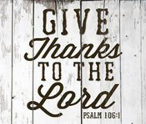 Coaster: Give Thanks