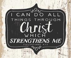 Coaster: Through Christ