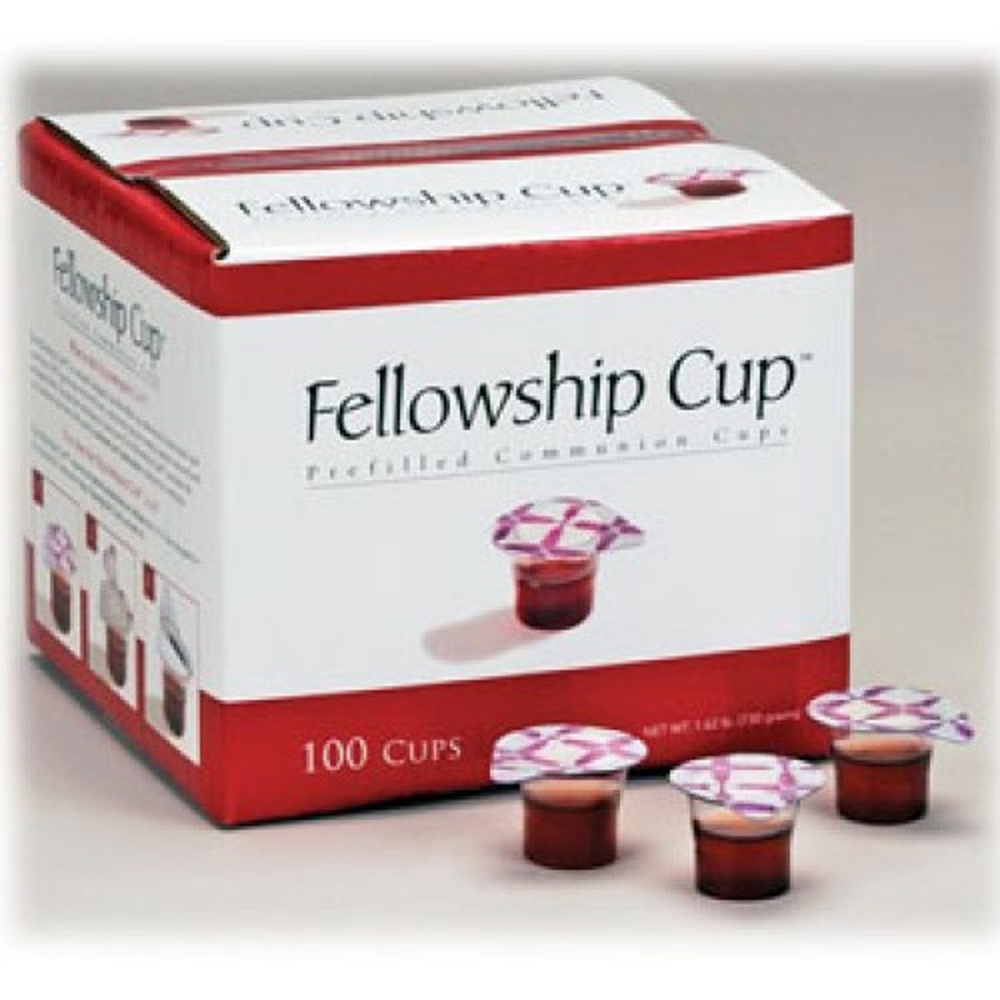 Fellowship Cup: Prefilled Communion Cups (100 Cups ...