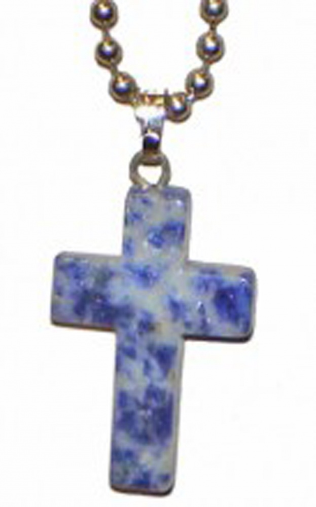 gemstone cross necklace things not seen jewelry