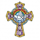 Stained Glass Cross Kit