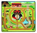 Round The Rails Train Rug