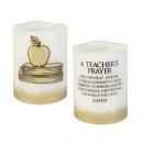 Teacher's Prayer Flameless Candle
