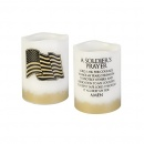 Soldier's Prayer Flameless Candle