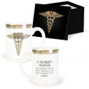 Nurse's Prayer Boxed Ceramic Mug