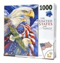 1,000 Piece Puzzle: American Eagle