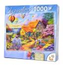 1,000 Piece Puzzle: Spring In Grandma's Garden