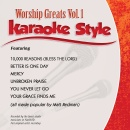 Karaoke Style: Worship Greats Vol. 1