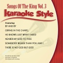Karaoke Style: Songs of the King Vol. 3