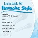 Karaoke Style: Lauren Daigle Vol. 1
