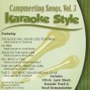 Karaoke Style: Campmeeting Songs, Vol. 3