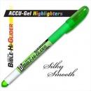 Highlighter Accu Gel Bible Hi Glider Green