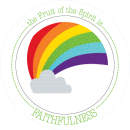 Fruit-Full Kids Plate: Faithfulness