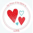 Fruit-Full Kids Plate: Love