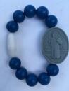 Sapphire Kids St. Benedict Medallion Bracelet