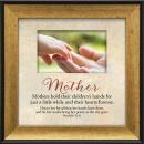 Mother Hands Plaque