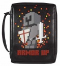 Armor Up Bible Cover (Vinyl, Medium)