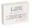Life Is A Journey 6x8 Wood Plaque