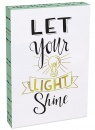 Let Your Light Shine 8x12 Wood Plaque