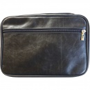 Distressed Look Bible Cover XL (Black)