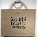 """Giving Thanks Always For All Things Unto God"" Eph. 5:20 Tote Bag"