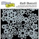 6x6 Stencil: Flowers