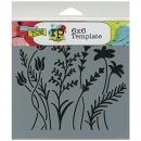 6x6 Stencil: Wildflowers