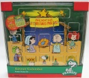 Peanuts Wooden Advent Calendar