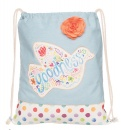 """Goodness"" Drawstring Bag"
