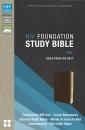 NIV, Foundation Study Bible, Imitation Leather, Brown