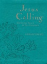 Jesus Calling, Deluxe Large Print Edition (Turquoise Leather)