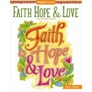 Faith, Hope, and Love Coloring Book (Creative Faith)
