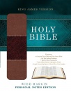 Holy Bible: Wide-Margin Personal Notes Edition: King James Version