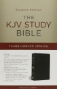 KJV Study Bible Student Edition-Indexed (Black Genuine Leather)