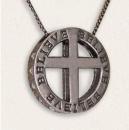 Believe: Crystal Cross Antique