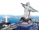 Christ The Redeemer 3D Puzzle