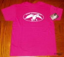 Duck Commander Logo Shirt: Heliconia | Youth Small