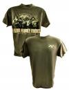 Faith Family Ducks Shirt: Moss | X-Large