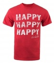 Duck Commander Happy Shirt: Red | Large
