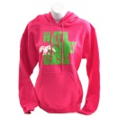 Faith, Family, Ducks Hoodie: Heliconia/Lime | Medium