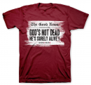 God's Not Dead Headline Shirt (Large)