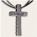 Love  Antique Finish Necklace