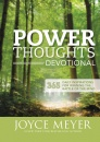 Power Thoughts Devotional (Hardcover)