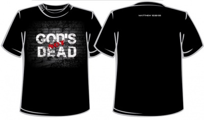 God's Not Dead Shirt: Mens | Black | Medium