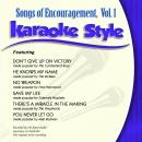 Karaoke Style: Songs of Encouragement, Vol. 1