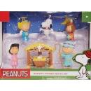 Peanuts Nativity Figure Set