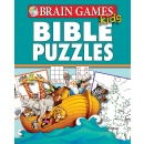 Brain Games for Kids: Bible Puzzles Spiral-bound