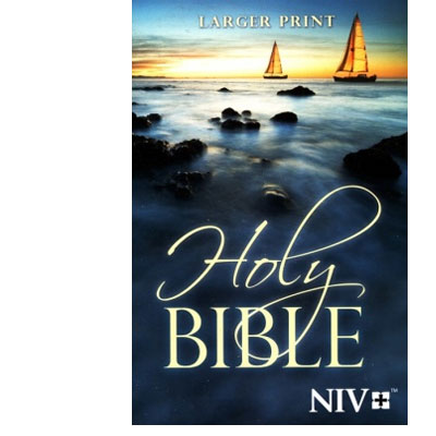NIV Larger-Print Bible