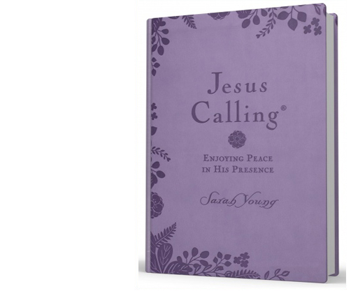 Jesus Calling lavender