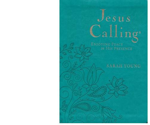 Jesus Calling turquoise